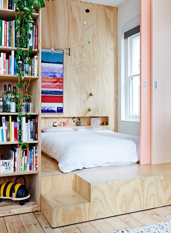 Melbourne apartment - chambre.jpg