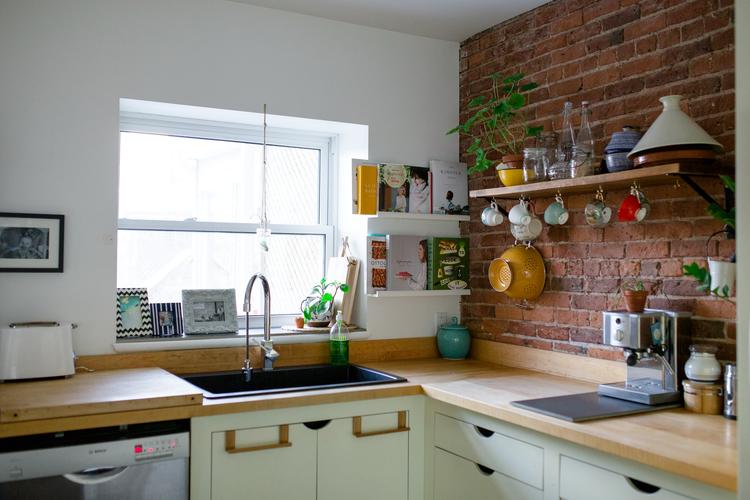 La mini maison for Tablette cuisine
