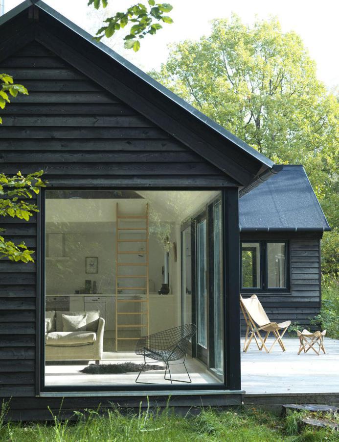mini maison autour du monde petit chalet au danemark la mini maison. Black Bedroom Furniture Sets. Home Design Ideas