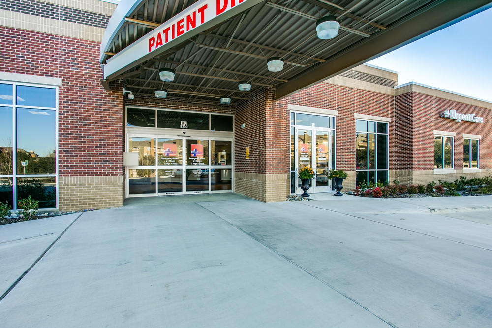Family ER - 10,200 sf single-tenant urgent care facility in  Irving, Texas