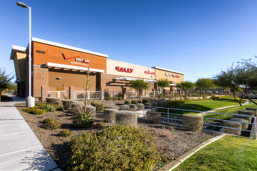 Shops at Prasada - 8,942 sf multi-tenant shopping center in  Surprise, Arizona