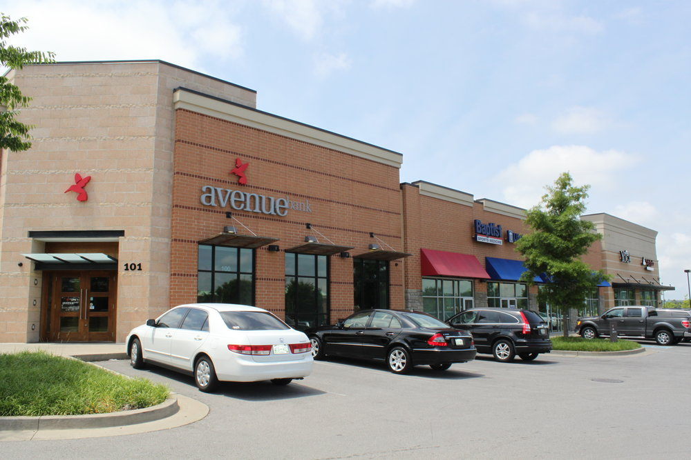 Carother's Park - 25,074 square feet multi-tenant shopping center in  Franklin, Tennessee