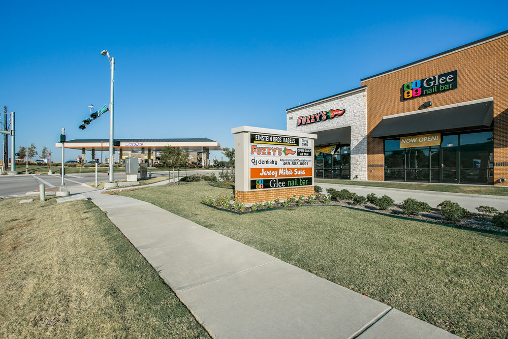 Allen Exchange - 11,027 sf  multi-tenant shopping center in  Allen, Texas