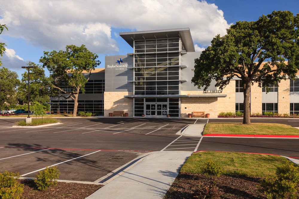 Baylor Scott & White Clinic - 38,709 square feet medical facility in  Cedar Park, Texas