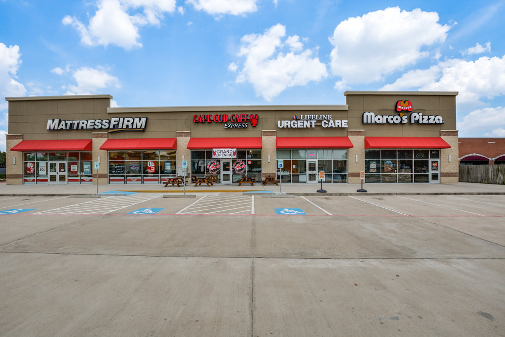 Mason Square - 10,800 square feet multi-tenant shopping center in  Katy, Texas