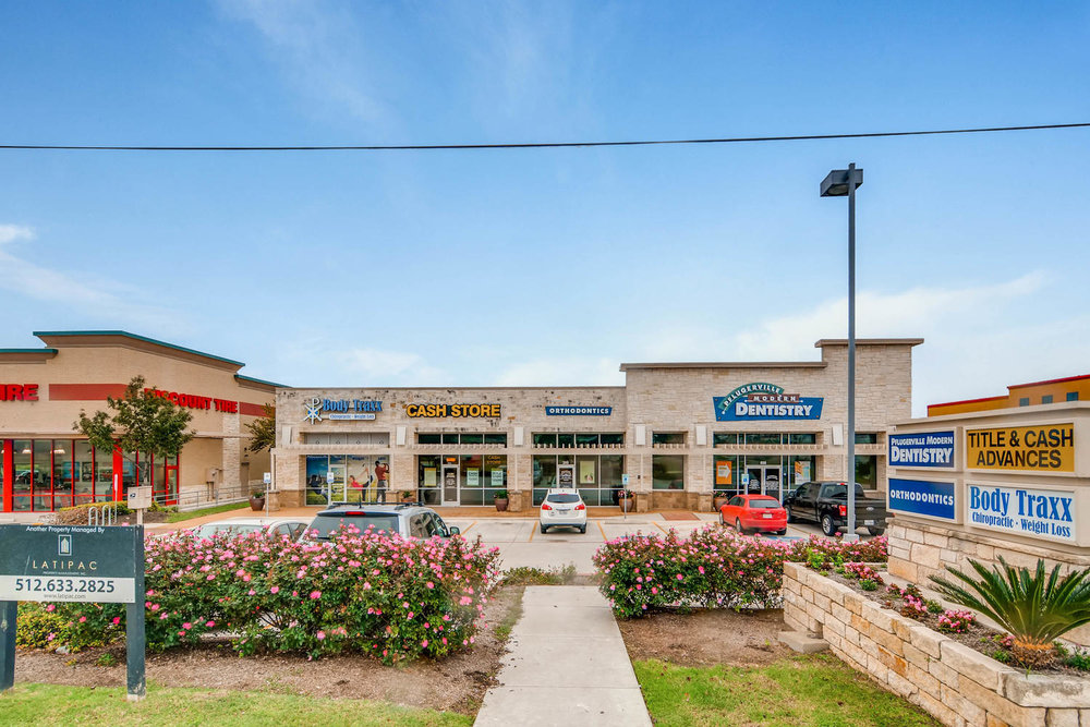 Town Center - 8,066 sf multi-tenant shopping center in  Pflugerville, Texas