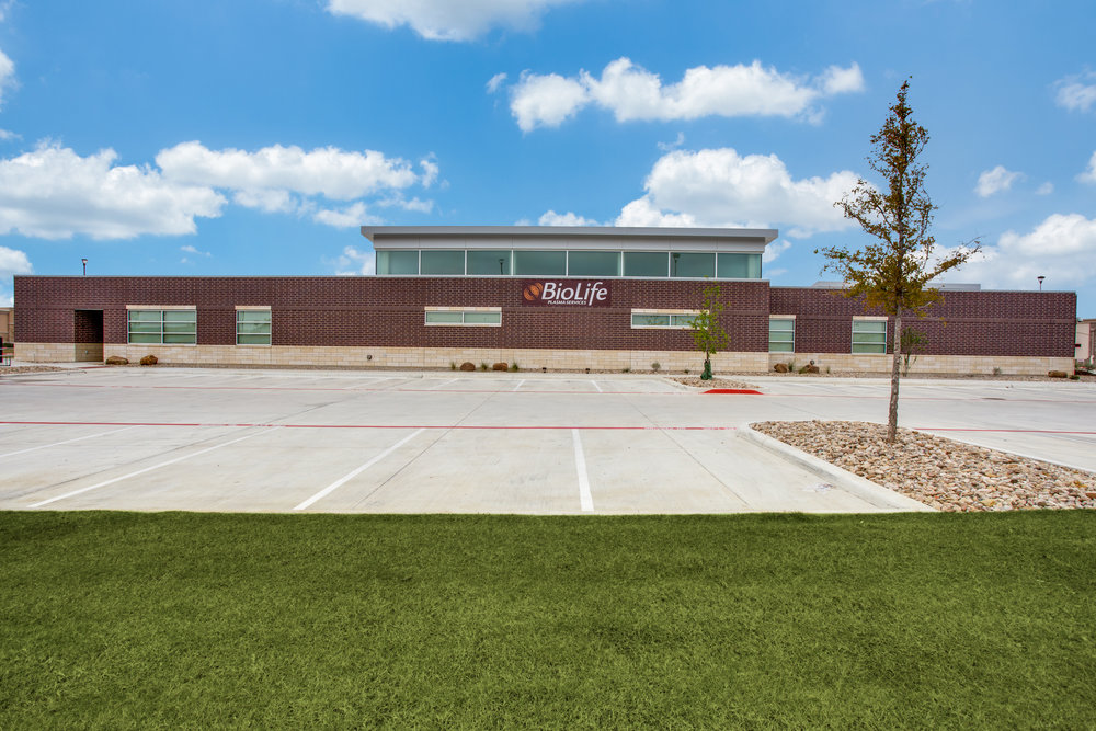 BioLife Plasma Services - 16,694 square feet medical facility in  Burleson, Texas