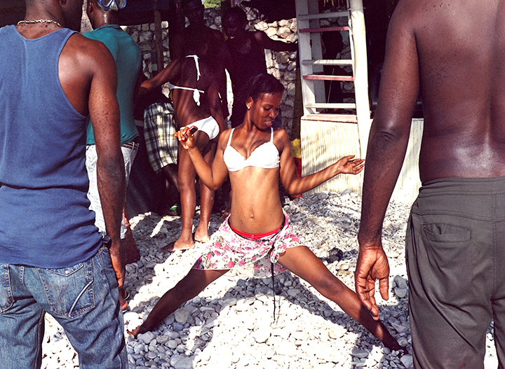 Beach Party in Haiti