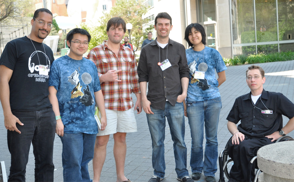 Cast of Characters :  Larry Oji , Tim Hwang (ROFLCon Founder)  Jef Sewell ,  Aaron Peckham , Christina Xu (ROFLCon Founder),  Pete Hottelet