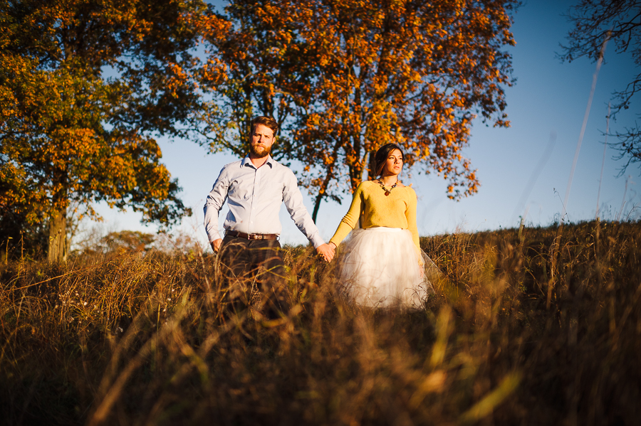 Rodale Farm Institute Wedding Photographer Trexler Nature Preserve Engagement Shoot Alexandra Grecco Tulle Skirt Philadelphia Weddings Longbrook Photography-17.jpg