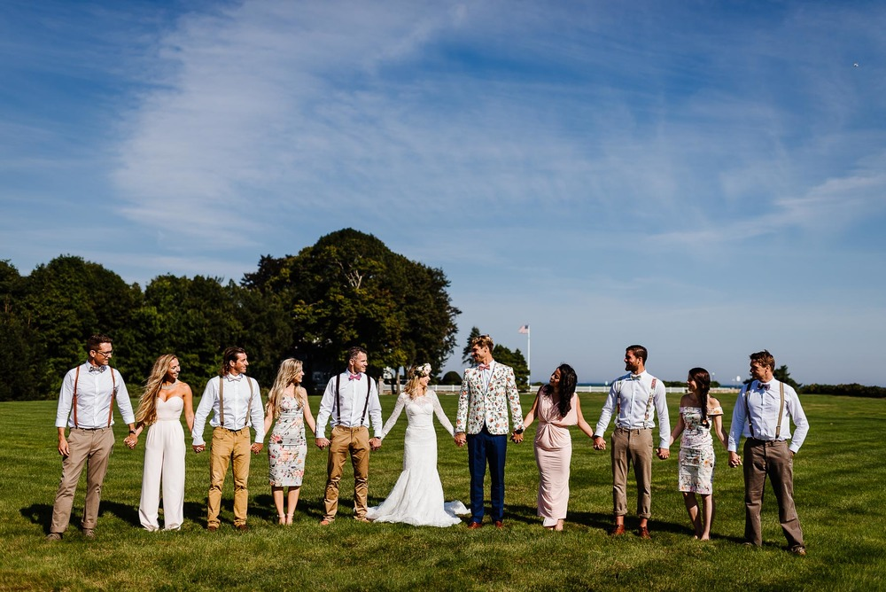 79-Bohemian New Hampshire Beach Wedding Rye New Hampshire Weddings Summer Sessions Surf Shop Longbrook Photography.jpg