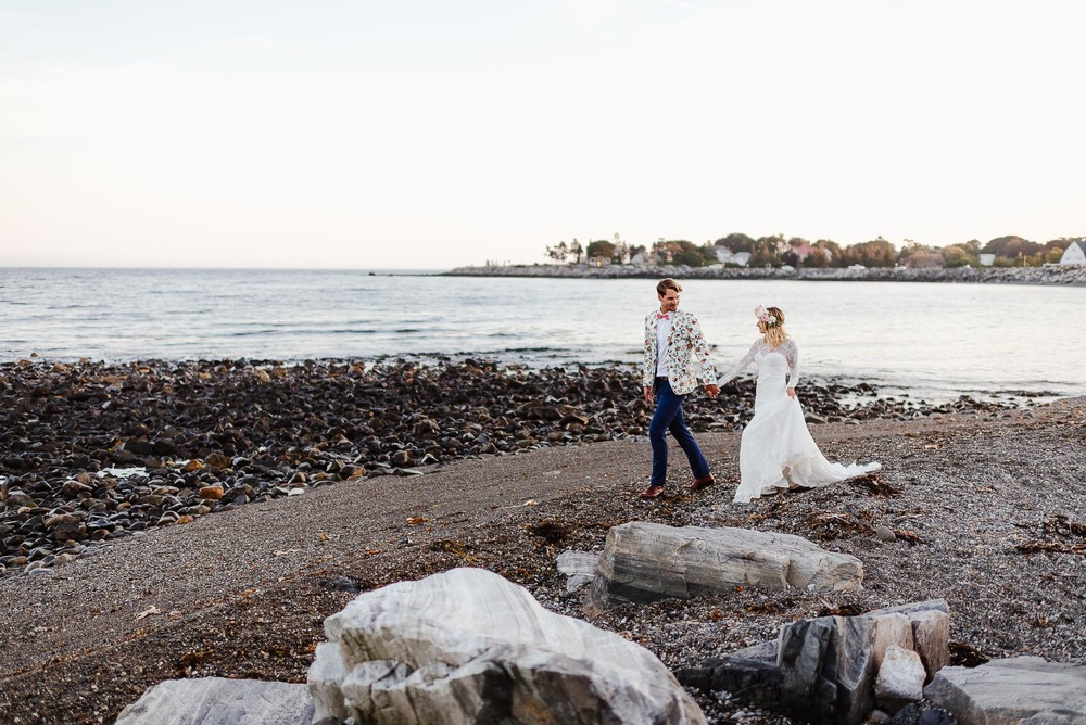 135-Bohemian New Hampshire Beach Wedding Rye New Hampshire Weddings Summer Sessions Surf Shop Longbrook Photography.jpg
