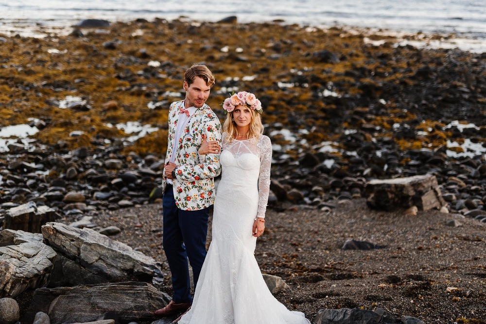 139-Bohemian New Hampshire Beach Wedding Rye New Hampshire Weddings Summer Sessions Surf Shop Longbrook Photography.jpg