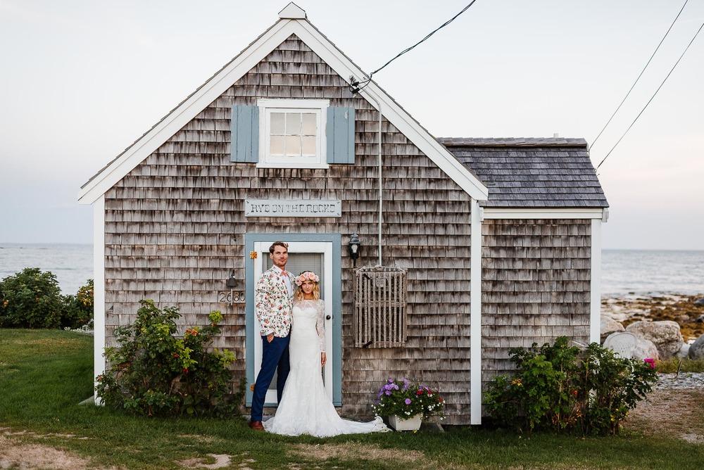 147-Bohemian New Hampshire Beach Wedding Rye New Hampshire Weddings Summer Sessions Surf Shop Longbrook Photography.jpg