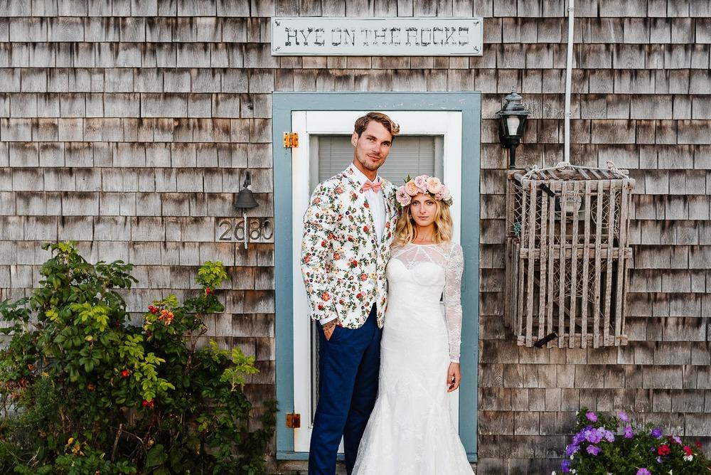 148-Bohemian New Hampshire Beach Wedding Rye New Hampshire Weddings Summer Sessions Surf Shop Longbrook Photography.jpg