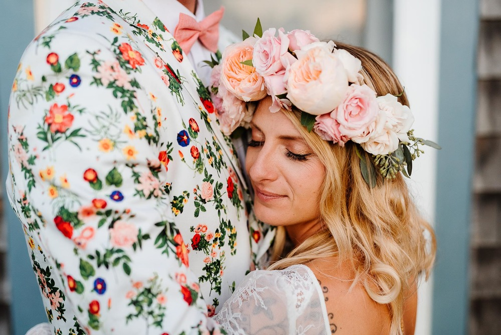 154-Bohemian New Hampshire Beach Wedding Rye New Hampshire Weddings Summer Sessions Surf Shop Longbrook Photography.jpg