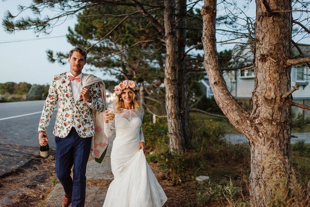 159-Bohemian New Hampshire Beach Wedding Rye New Hampshire Weddings Summer Sessions Surf Shop Longbrook Photography.jpg