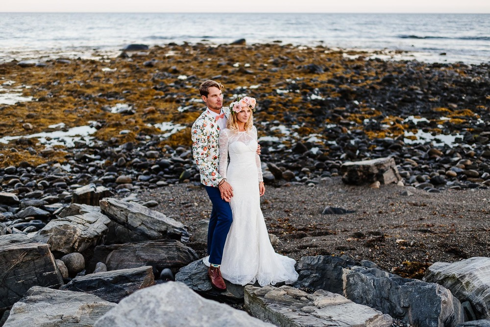 214-Bohemian New Hampshire Beach Wedding Rye New Hampshire Weddings Summer Sessions Surf Shop Longbrook Photography.jpg