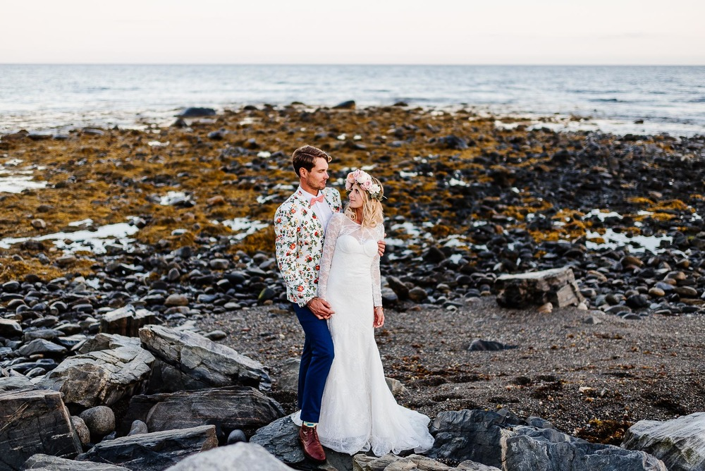 138-Bohemian New Hampshire Beach Wedding Rye New Hampshire Weddings Summer Sessions Surf Shop Longbrook Photography.jpg