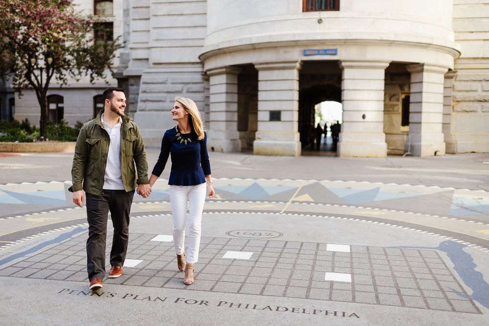31-City Hall Philadelphia Engagement Shoot Old City Phildelphia Engagement Photos Philadelphia Wedding Photographer South Philly Weddings Longbrook Photography.jpg