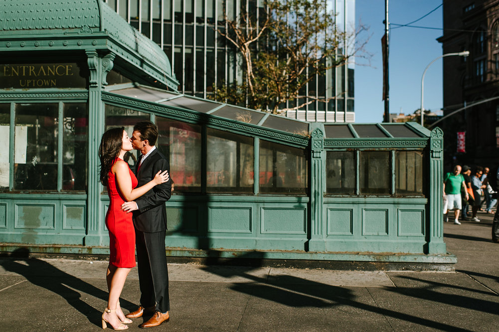 28-West Village NYC Engagement Photographer Essex Market Lower East Side Manhattan Brooklyn Wedding Photographer.jpg