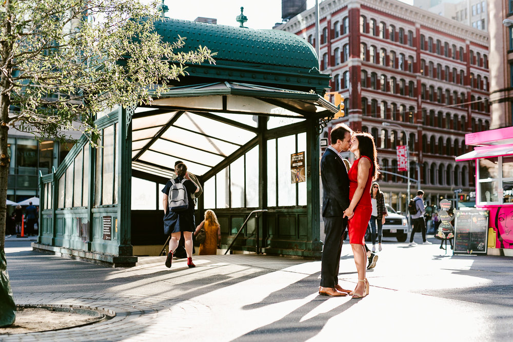 32-West Village NYC Engagement Photographer Essex Market Lower East Side Manhattan Brooklyn Wedding Photographer.jpg