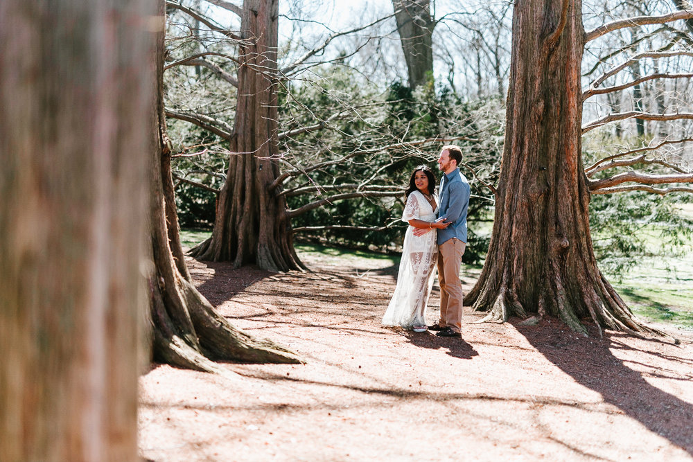 009-NY Botanical Gardens Engagement NYC Bronx NY Fordham University Engagement Photos.jpg
