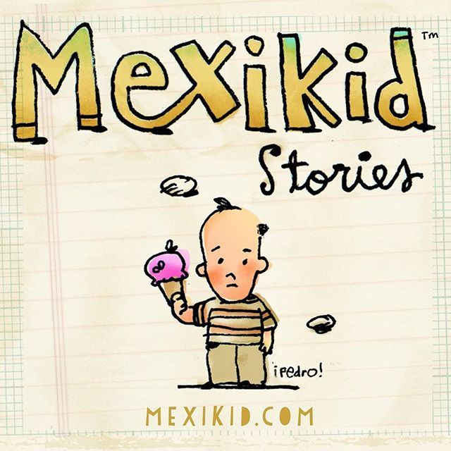 "My husband Peter's stories of growing up Mexican American in the 70's....""100% true 90% of the time."" Mexikid.com"