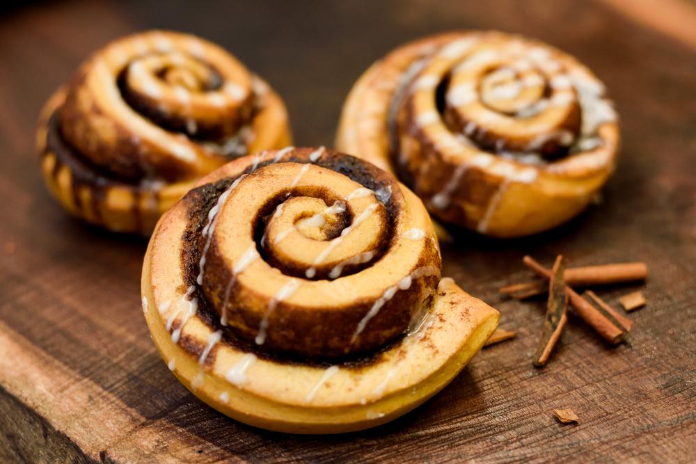 Sweet Potato Cinnamon Roll
