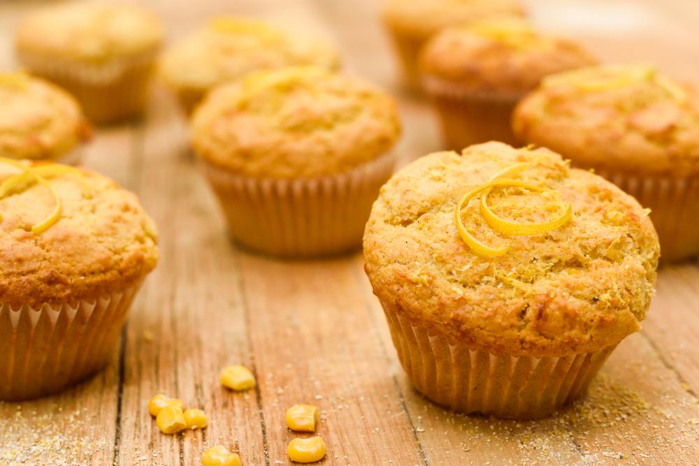 Lemon Vanilla Cornbread