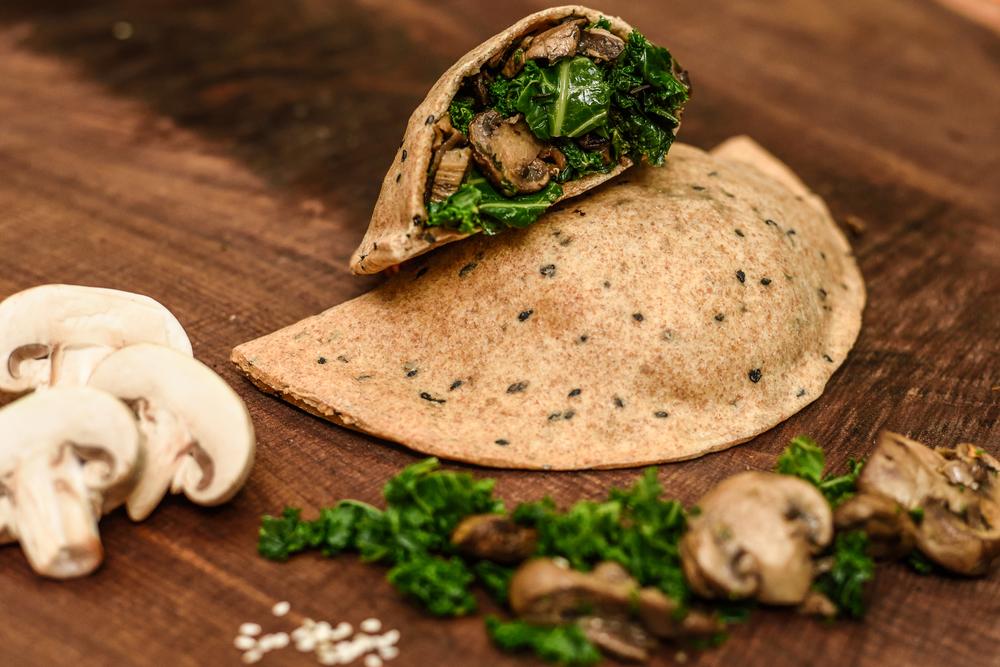Mushroom & Kale Turnover