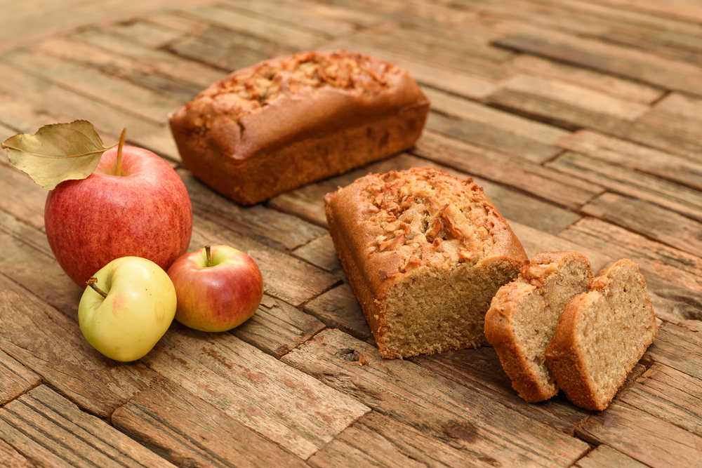 Gluten-free Apple Spice Tea Bread