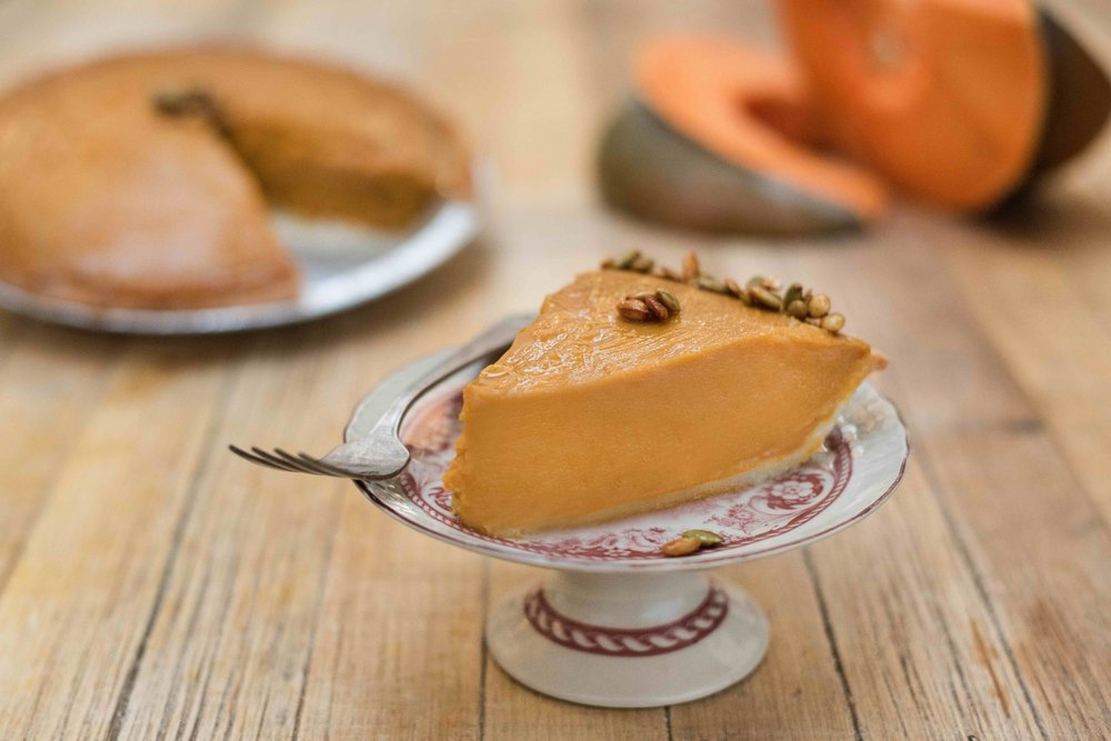 Large Gluten-free Pumpkin Sweet Potato Pie