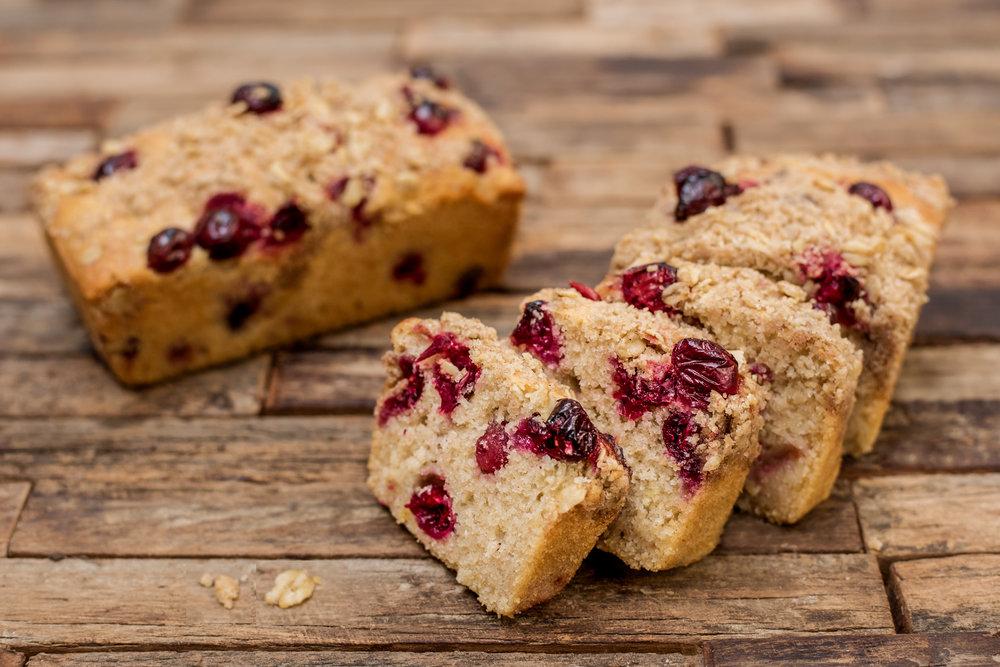 Copy of Cranberry /Blackberry Crumble Tea Bread