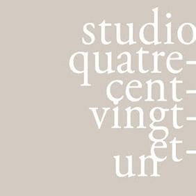 STUDIO 421 Studio421 est une agence de communication visuelle spécialisé dans l'édition de luxe,le design graphique, l'univers de la mode, l'hôtellerie et la gastronomie.Nous sommes des artisans du luxe et notre savoir-faire est au service de vos projets.
