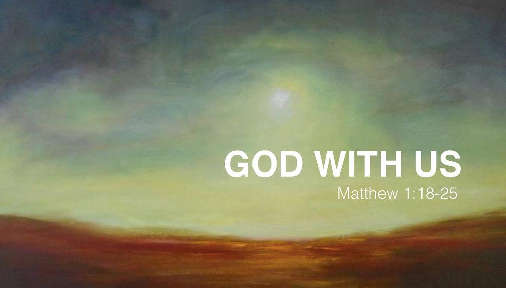 GOD WITH US (CHRISTMAS 2016)