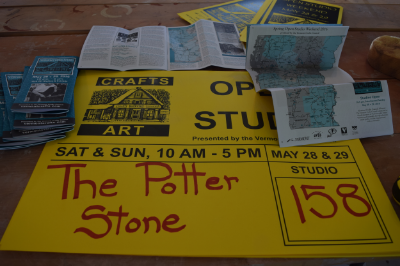 Open Studio maps, posters and signs