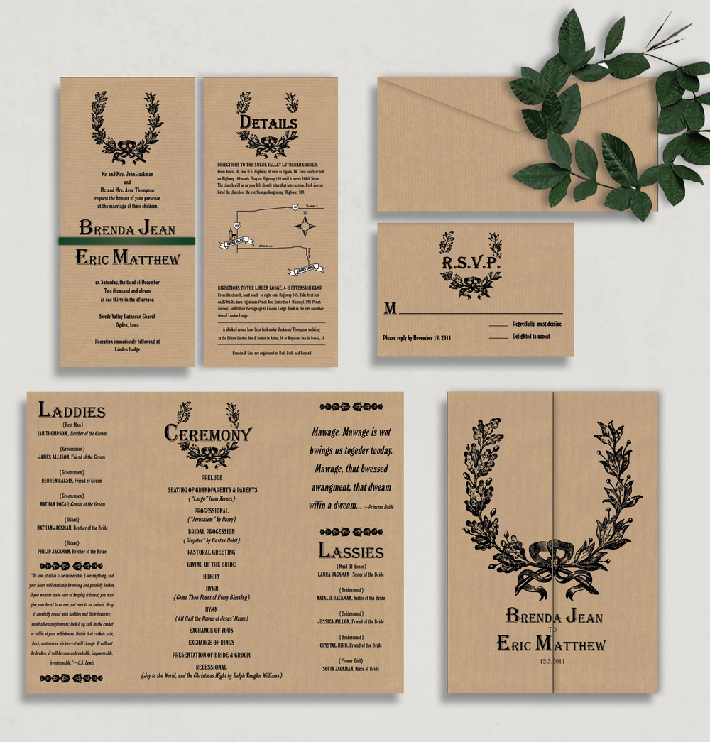 Wedding Invitation Package was good invitations template
