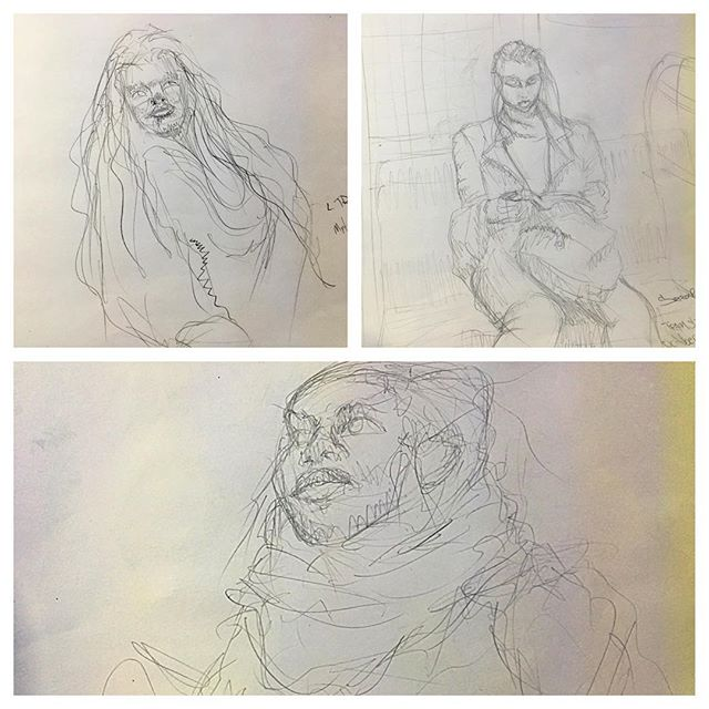 Yea i'm weird like that.Train ride live drawings. Its great practice to do quick glances and work from memory as to not be caught. But I end up staring and caught lol Some people get weirded out, some start to pose 😎#drawing #subwayart #mtadrawing #underground #livedrawing #sketchinganatomy #peopledrawing #trainridelivedrawings #lifeart #lifedrawing #quickdraw #drawfromlife #beautyeverywhere #drawingpeople #peopleontrain #drawingonthetrain #myzenplace