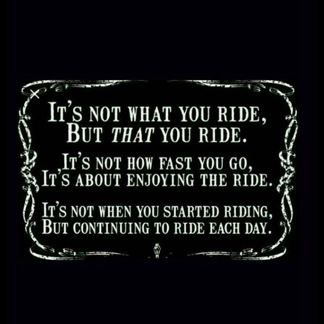 This applies to many facets of life #bikelife #motorcycle #motorcycles #scooter #scooters #sportbike #sportbikes #literbike #yamaha #kawasakisuzuki #ducati #triumph #fusar #stonecold #twowheels