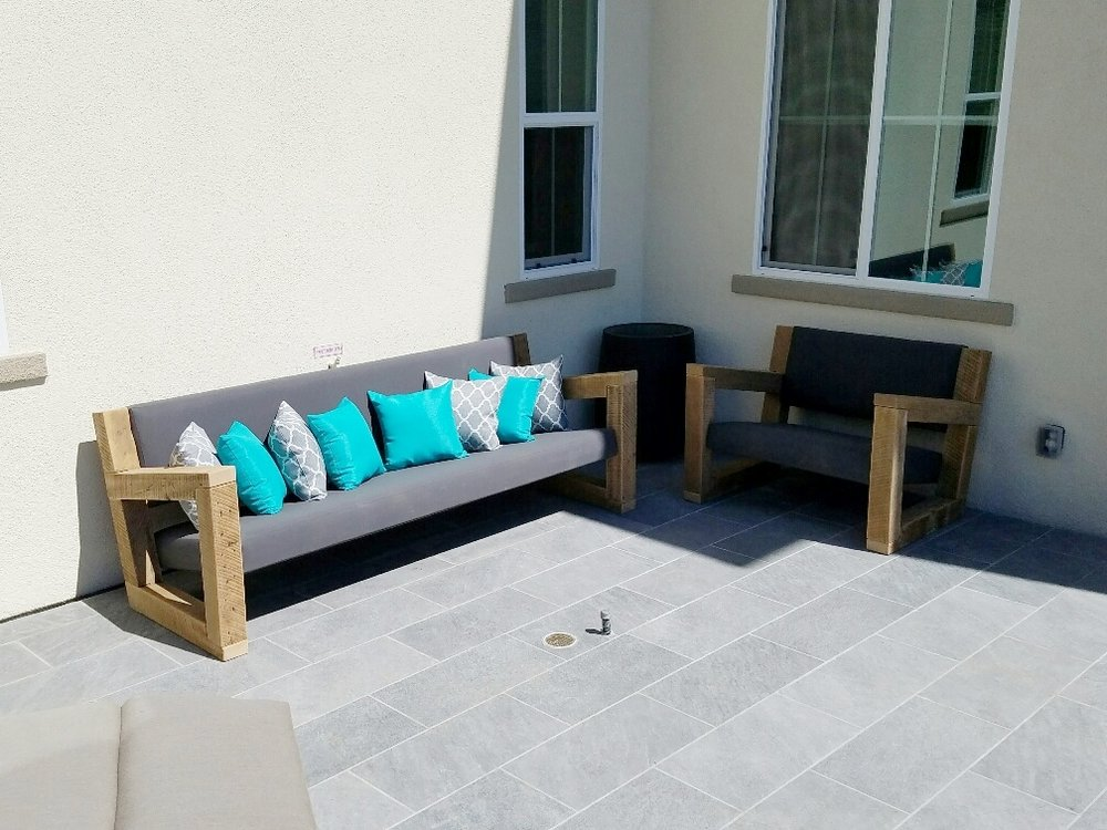 Beautiful outdoor furniture that is built to last a lifetime!