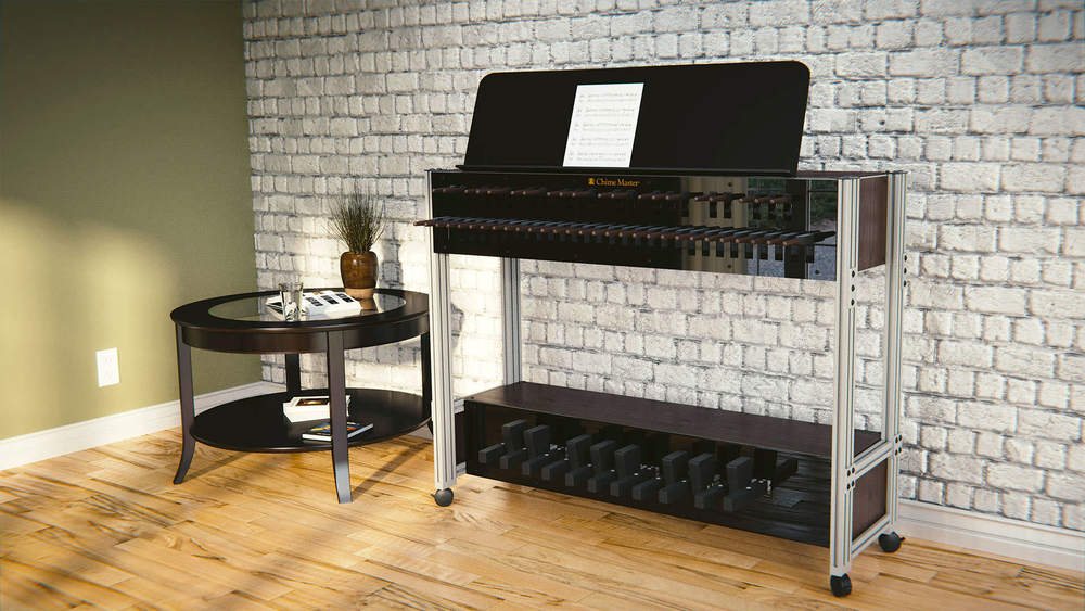 Chime Master Clavier for accurate electronic carillon performance.