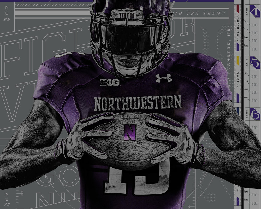 _12 / DEVICE × NORTHWESTERN UNIVERSITY ATHLETICS