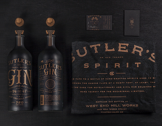 We worked closely with Sutler's Spirit Co. to help them develop a brand that blended audaciousness with subtlety – just like its historic namesakes. The packaging was inspired by the minimalist, inscrutable ceramic vessels used for housing gin during times past, and rebelling against the clear glass standards that fill the shelves.   Check out more of this revolutionary era brand here.