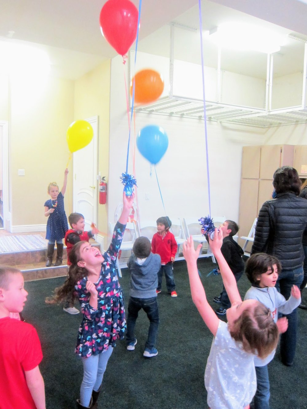 ballons kids party fun
