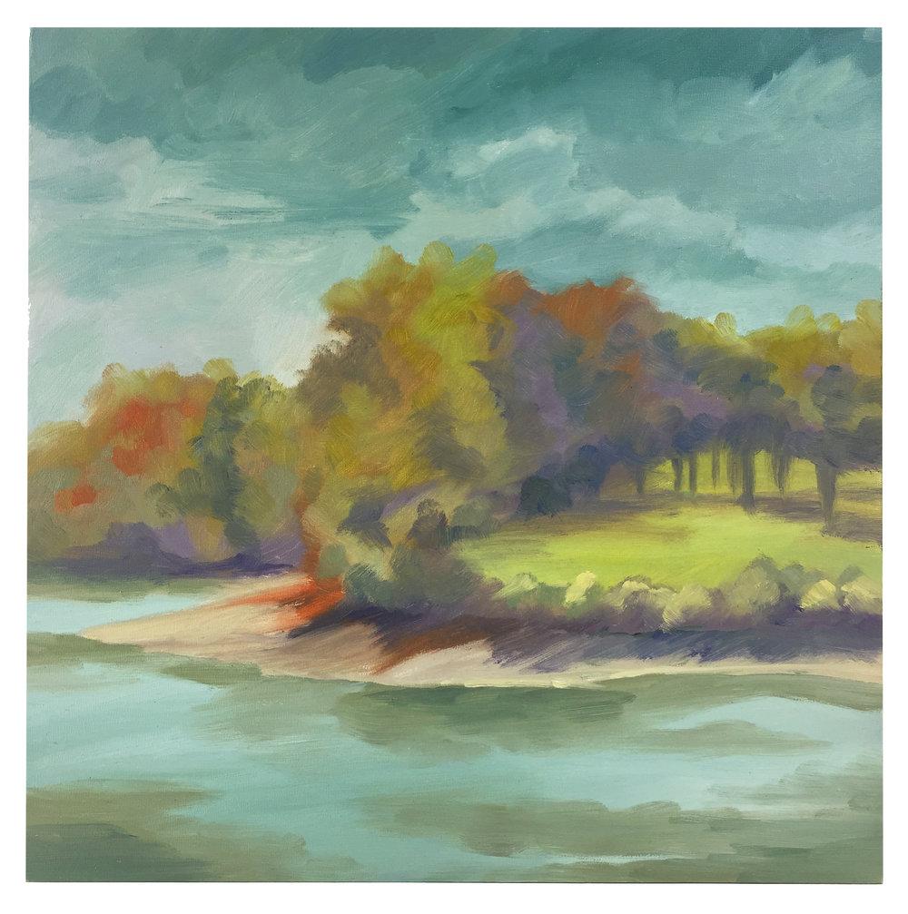 """Lake Storey in Fall"" by Nicole Blackburn"