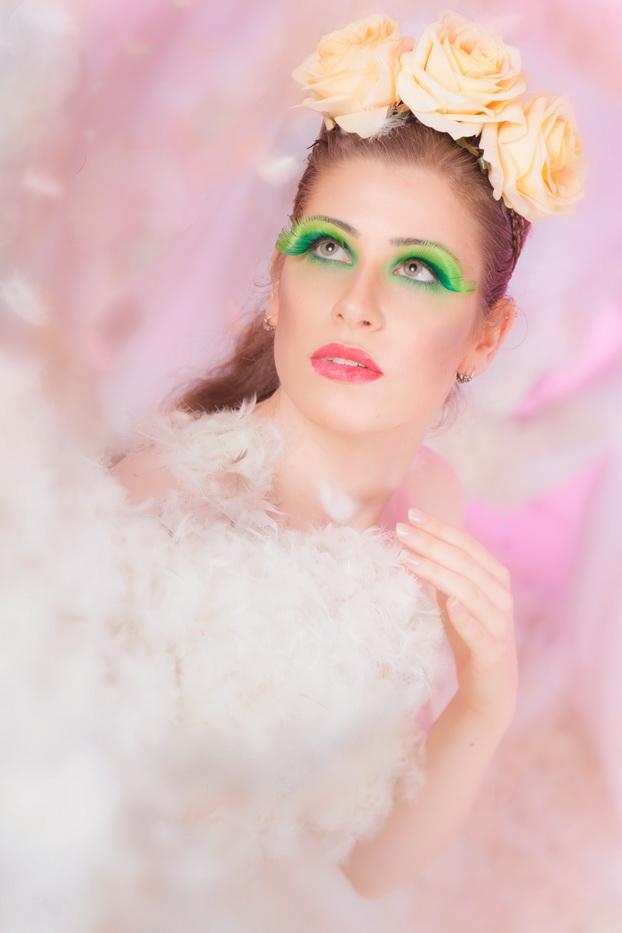 kreative Beauty- und Fashionfotografie im Fotostudio