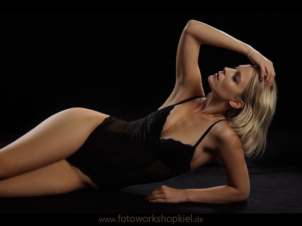 Dessous Shooting Modelshooting im Studio