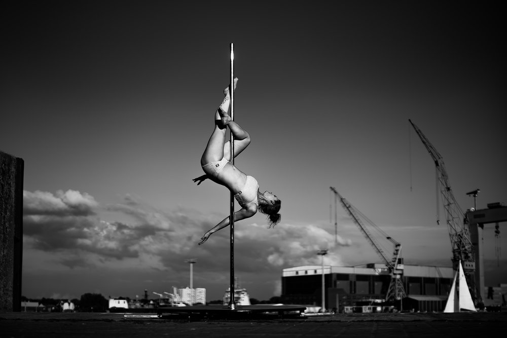 Poledance & Sportfotografie Fotokurse Outdoorfotografie im Fotoworkshop Kiel