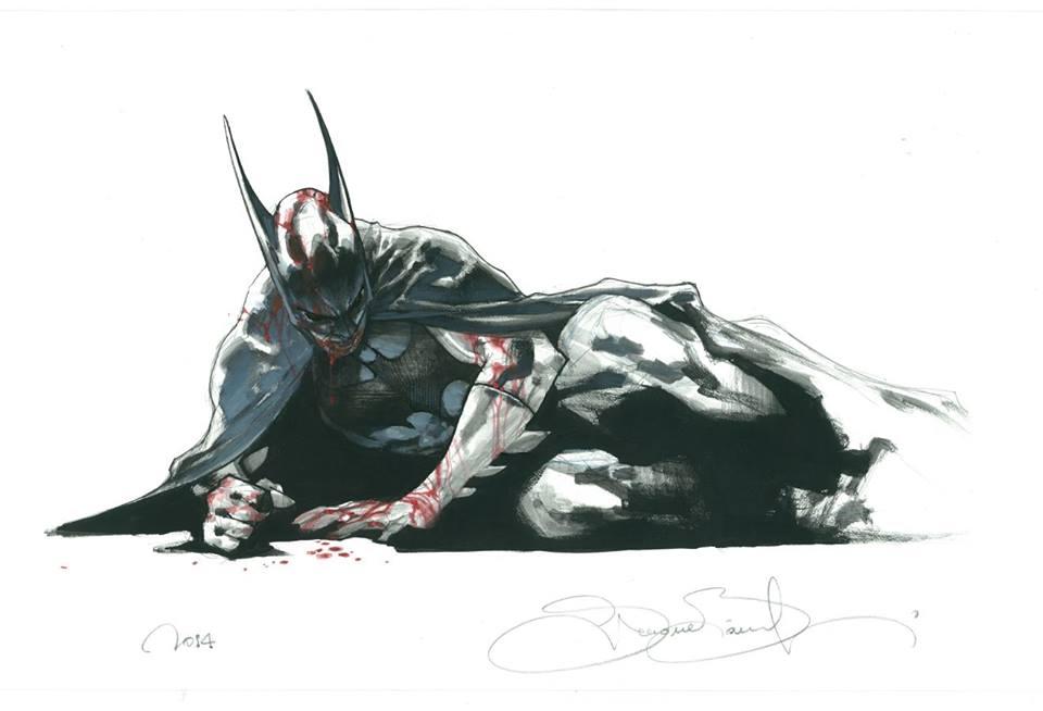 xombiedirge: NYCC Batman CommissionbySimone Bianchi/Blog